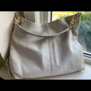 Dooney & Bourke ivory satchel purse 15X13